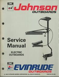 Evinrude Johnson Outboards Electric Models 1993 Service Manual P/n 508280