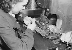 1936 Photo At Hamilton Watch Company In Lancaster Pa - 8 By 10 - Nice