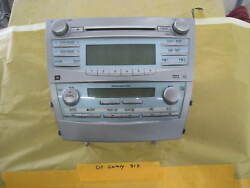 toyota camry radio climate control 07-09 2007 51k 2008 2009 temp cd player