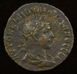 Syria Antioch. Philip Ii. 244-249 Ad. Ae 8 Assaria - Turreted And Draped Bust