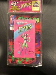 Crusade Of Comics Presents Spawn 1 W Vhs Lotus First Appearance Of Spawn