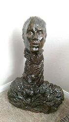 Bronze Original One-of-a-kind Museum And Gallery Sculpture 120 Lbs.