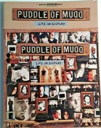 Puddle Of Mud quot;Life On Displayquot; Authentic Guitar Tab Edition Notes Vocals $18.95