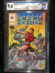 Magnus Robot Fighter #0 CGC 9.6 White 1992 Pre-Unity Limited Ed. Valiant Label