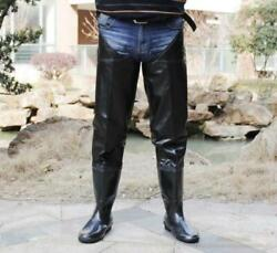 Waterproof Shoes Anti-skid Pull On Fishing To Catch Fish Men Over The Knee Boots