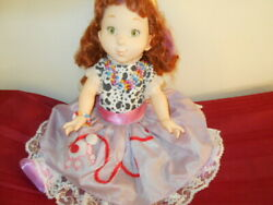 Fancy Nancy Doll In Poodle Skirt,clothing And Accessories Jakks Pacific