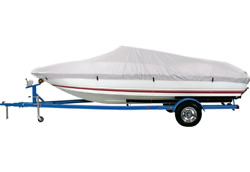 Universal Fit Boat Cover 17and039-19and039 V-hulls Runabouts Poly