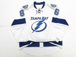 Tampa Bay Lightning Away Any Name / Number Team Issued Reebok Edge 2.0 Jersey