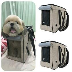 Portable Pet Dog Cat Travel Carrier Case Cage Tent Kennel Outdoor Bag Size M L