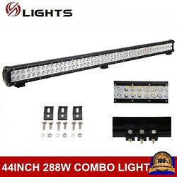 44inch 288w Led Light Bar Combo Offroad Driving Ute Ford Atv Suv Truck Pk 42/48