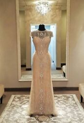 Nwt Morilee Musidora Wedding Dress Sz 0 Lace And Beading Detail - Exquisite