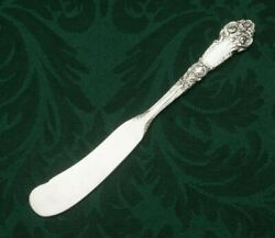 French Renaissance By Reed And Barton Sterling Flat Butter Spreader 6 1/8