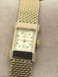 Ladies Vintage And Co. 14k Yellow Gold Watch Manual Movement