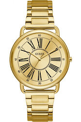 Watch Woman Guess Kennedy W1149l2 Of Stainless Steel Ba ± Ado Gold Coloured