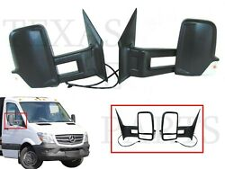 New Fits Driver Passenger Left Right Side Rear View Mirror Long Arm Sprinter