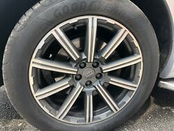 20andrdquo Genuine Audi Q7 / Sq7 Alloy Wheels And Tyres Ser Of 4