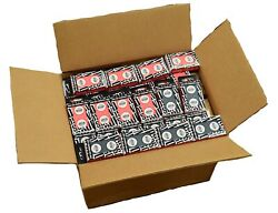 Case 140+ Black And Red Decks Original 2017 Wsop Used Copag Plastic Playing Cards