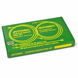 Automec - Brake Pipe Set Mga 1600 Mk1 And 2 Lhd Disc And Wire Wheels Gl5025