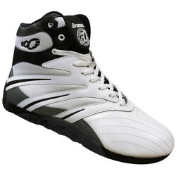 Otomix Extreme Trainer Pro Bodybuilding Weightlifting Shoes White/black Carbon