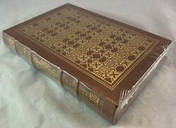 Sealed Signed Leather Easton Press The Martian Andy Weir Science Fiction