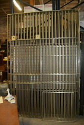 Stainless Steel Bars Bank Vault Wall Heavy Duty