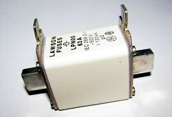 Lawson LPN00 63A 500VAC NH System Blade (Tag) Contact Fuse-Link