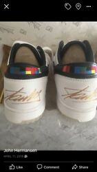 Very rare Stan Lee Fila X Sneakers**** Given By Stan as A Gift.