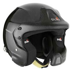 Stilo Wrc Des 8860 Carbon Fia And Snell 2010 Approved Competition Rally Helmet