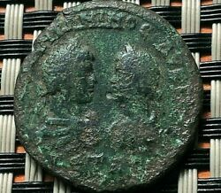 Provincial Roman Coin Caracalla And Geta Ae27 Of Marcianopolis Moesia Inf.