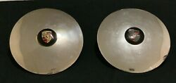 Porsche Wheels Hub Caps For 356/911/912 Parts Used Free Shipping