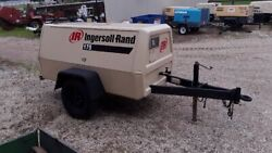 Ingersoll Rand 175 cfm Deutz Powered Towable Air Compressor Showing 375 hrs