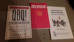 Lot Of 3 Business Qbq The Question Behind The Question Slay The Financial Dragon