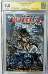 Detective Comics 1000 Cgc 9.8 Ss Signed Neal Adams - Neal Adams Store Variant A