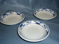 3 Small Vintage Pin Dishes, Mini Porcelain Trays, Trinket Or Coin Trays, 1063