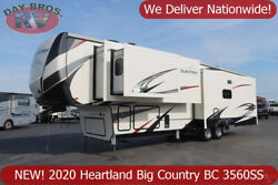 20 Heartland Big Country BC 3560SS Towable RV 5th Wheel Pull Behind Camper Slide