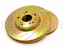 EBC 3GD DRILLED & SLOTTED SPORT BRAKE ROTORS - FRONT GD685
