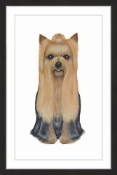 Marmont Hill 'Yorkshire Terrier' Framed Painting Print