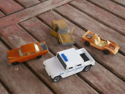 Antique Matchbox Mercedes 300 Bmw And Other Toy Cars