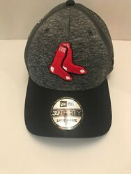 Boston Red Sox New Era Heather Grey Clubhouse Collection 59fifty Fitted Hat L/xl