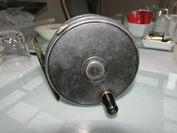 A1 Vintage William Brown Aberdeen Dingley Salmon Fly Fishing Perfect Reel 4