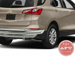 APU 18-19 Chevy Equinox Stainless Rear Bumper Protector Double Layer