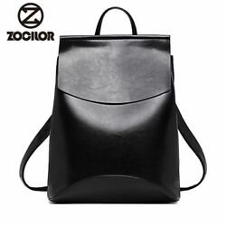 Fashion Women Backpack High Quality Youth Leather Backpacks For Teenage Girls $21.99