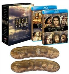 The Bible Stories Collection New Sealed Blu-ray 12 Tv Films Turner