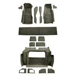 For Chevy Corvette 81-82 Carpet Essex Replacement Molded Charcoal Complete
