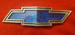 Chevy Camaro Impala Caprice Bow Tie Grille Emblem 1969 Parts Or Repair Only