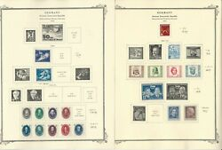 Germany Ddr Stamp Collection On 18 Scott Specialty Pages, 1948-1957, Dkz