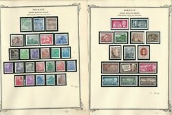 Germany Ddr Stamp Collection On 18 Scott Specialty Pages, 1954-59, Dkz