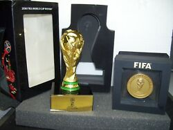 World Cup Fifa 2018 Participant Final Medal And Trophy