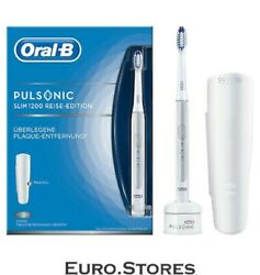Oral-b Pulsonic Slim 1200 Electric Toothbrush Silver Daily Cleaning Sensitive