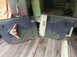 Hmmwv Contact Maintenance Box Rear Half Doors
